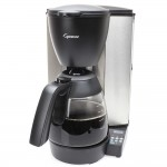 Capresso MG600 Plus 10 Cup Programmable Glass Carafe Drip Coffee Maker