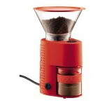 Bodum Bistro Burr Grinder in Red