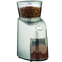 Capresso Infinity Burr Grinder - Stainless Steel ABS plastic finish