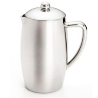 Bonjour Triomphe Double Wall Stainless Steel French Press