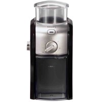 Krups GVX212 Black and Stainless Steel Burr Coffee Grinder